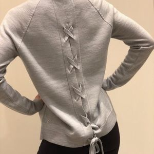EUC Lululemon Tied to you Sweater